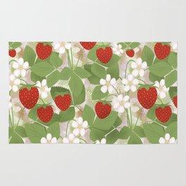 Strawberry. Rug
