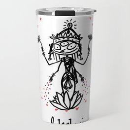 Lakshmi: Goddess of Abundance Travel Mug