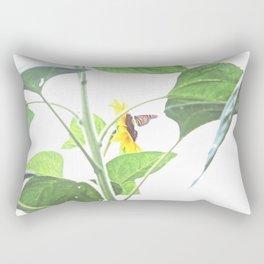 Butterflies on The Sun  Rectangular Pillow