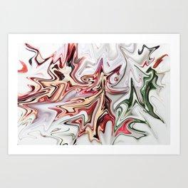 Trimming Roses Art Print