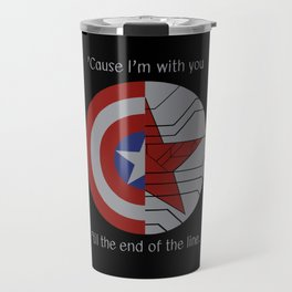 Stucky Shields (With Quote) Travel Mug