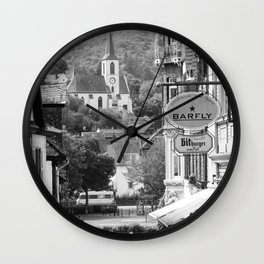 Trarbach as seen from Traben Wall Clock