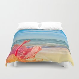 peace love and aloha Duvet Cover