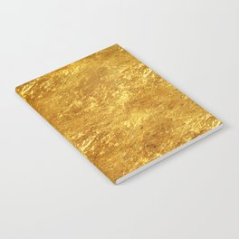 Gold Flake Notebook
