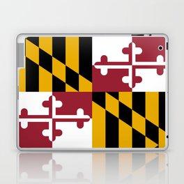 Maryland State Flag, Hi Def image Laptop & iPad Skin
