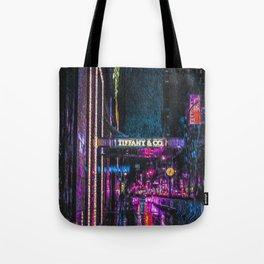 Midnight at Tiffany Tote Bag