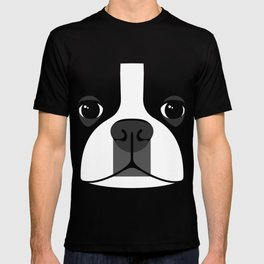 Boston Terrier Close Up T-shirt