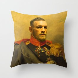 Conor McGregor Classical Painting Throw Pillow