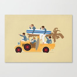 Surfin Safari Canvas Print