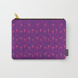 Flowerline – violet Carry-All Pouch