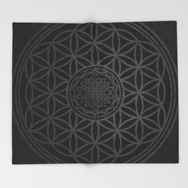 Sacred Unity Throw Blanket