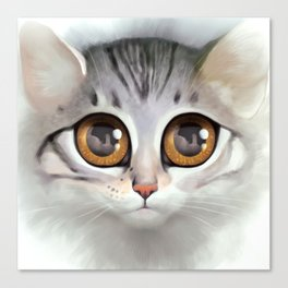 Kitten 5 Canvas Print