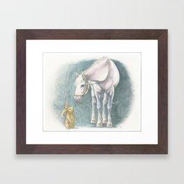 Velveteen Rabbit Framed Art Print