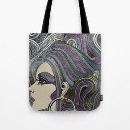 Seventies Girl Tote Bag