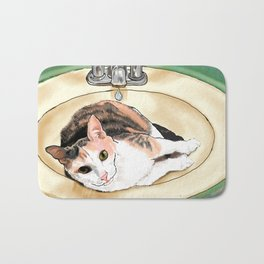Catrina in the Sink Bath Mat