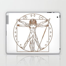 Predruvian Dark Laptop & iPad Skin