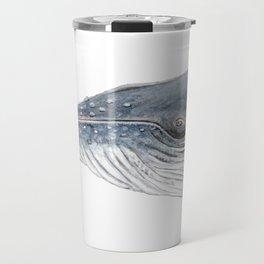 Humpback whale portrait Travel Mug