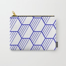 LYLA ((berry blue)) Carry-All Pouch