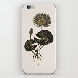 Egyptian Sacred Waterlily iPhone Skin