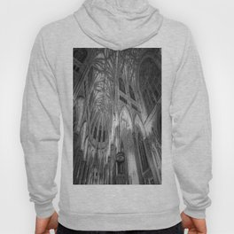 St Patrick's Cathedral New York Art Hoody