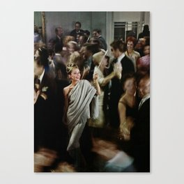 Holly Golightly Party Canvas Print