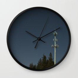 Transmissions in the dead of the night Wall Clock
