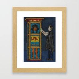 Puppet Show Framed Art Print