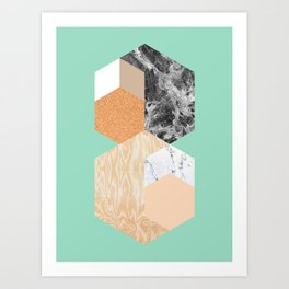 TESSELLATION 02 Art Print