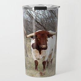 Longhorn Cattle Travel Mug