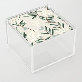 OLIVE BLOOM Acrylic Box