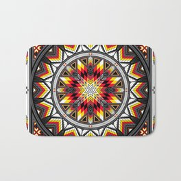 Sacred Places Red Bath Mat