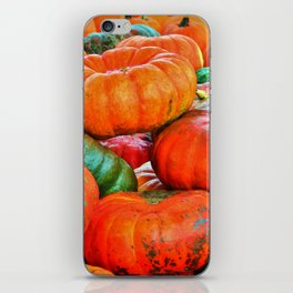 Heirloom Pumpkins iPhone Skin