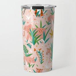 Endangered Wilderness - Blush Pink Travel Mug