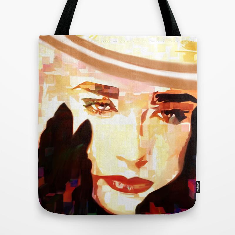 George 1 Tote Bag by Darlaferrara TBG8741880