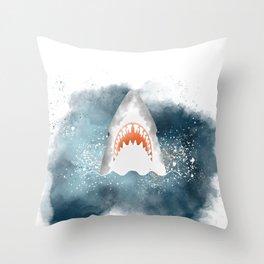 Da-Dum... Da-Dum... Throw Pillow