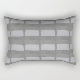 Grey on Grey Rectangular Pillow