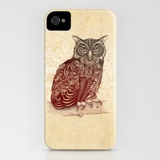 Most Ornate Owl Slim Case iPhone (4, 4s)