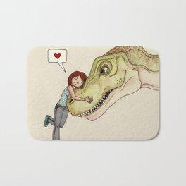 I love dinosaurs Bath Mat