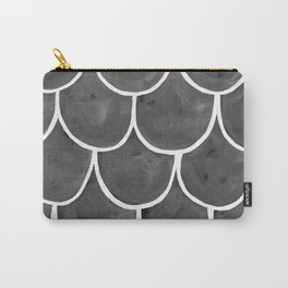 Grey chalk roof tiles Carry-All Pouch