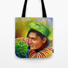 Alex Wassabi & The Tale of the Emerald Flower Tote Bag