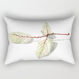 Autumn leaf of berrie Rectangular Pillow