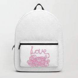 Love Spaghetti Backpack