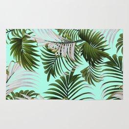Tropical Leaf Pattern II Rug