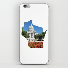 Beautiful Capitol Building in Wisconsin iPhone Skin