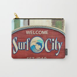 Welcome To Surf City Carry-All Pouch