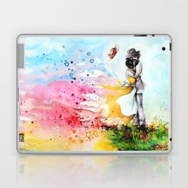 """By the cliff"" Laptop & iPad Skin"