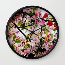 Blossum Wall Clock