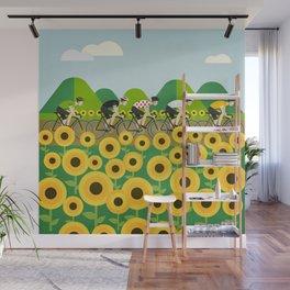 Le Tour I Wall Mural