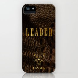 LEADER PHONE CASE iPhone Case