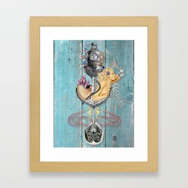 The Salty Brine Framed Art Print